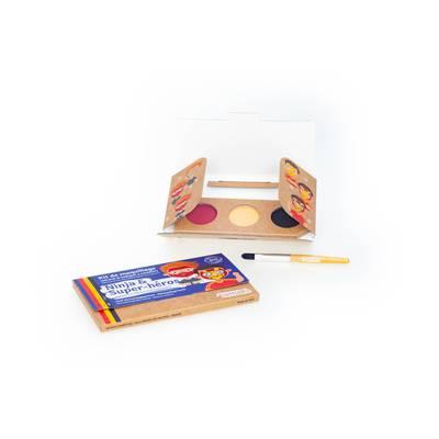 "Kit de maquillage 3 couleurs ""Ninja & Super-héros"" - Namaki - Maquillage"