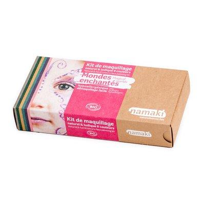Kit de maquillage 8 couleurs Mondes enchantés - Namaki - Maquillage