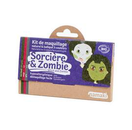 Witch & Zombie 3 colours face painting kit - Namaki - Make-Up