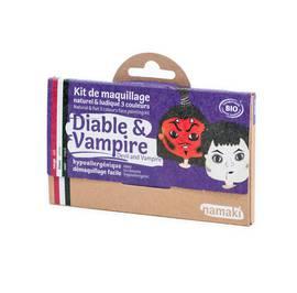 Kit de maquillage 3 couleurs Diable & Vampire - Namaki - Maquillage
