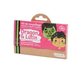 Kit de maquillage 3 couleurs Dragon & Lutin - Namaki - Maquillage