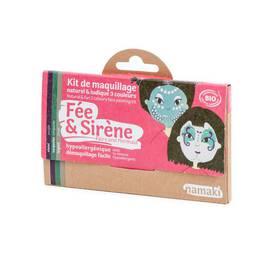 image produit Kit de maquillage 3 couleurs Fée & Sirène