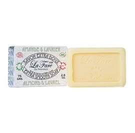 image produit Almond & laurel soap