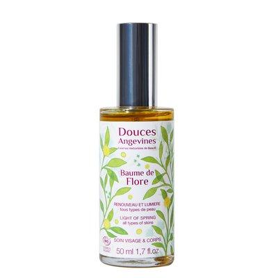 Baume de Flore - soin visage et corps - renouveau et lumière - Douces Angevines - Visage - Corps