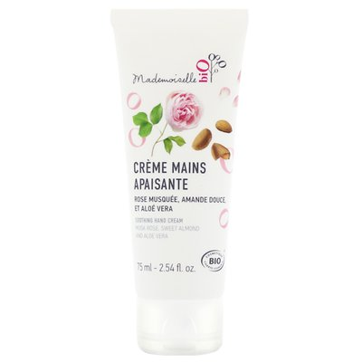 Crème mains apaisante - Mademoiselle bio - Corps