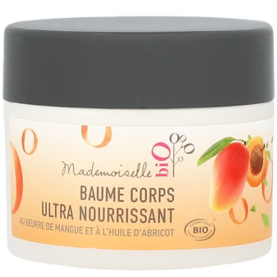 Baume corps ultra nourrissant  - Mademoiselle bio - Corps