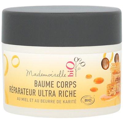 Baume corps réparateur ultra-riche - Mademoiselle bio - Corps