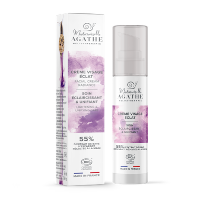Facial Radiance Cream   Lightening & Unifying Care - Mlle Agathe - Face