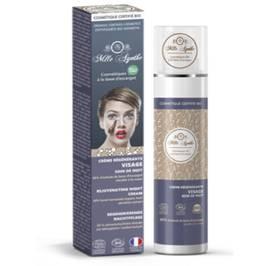 regenerative cream based Snail / cream night - Mlle Agathe - Face