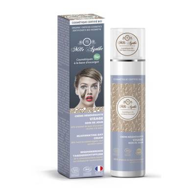 regenerative cream based Snail / vanishing cream - Mlle Agathe - Face