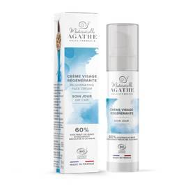 Rejuvenating Facial Cream - Day Care - Mlle Agathe - Face