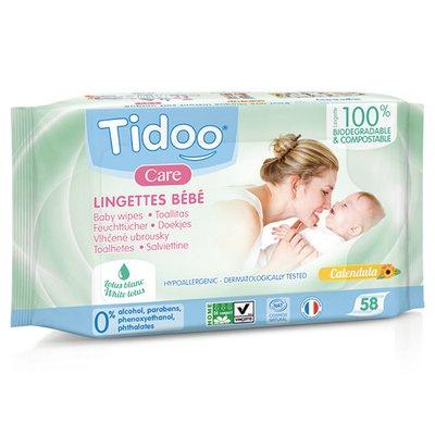 Lingettes compostables parfumées - TIDOO - Bébé / Enfants - Corps