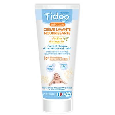 Crème lavante nourrissante - TIDOO - Bébé / Enfants