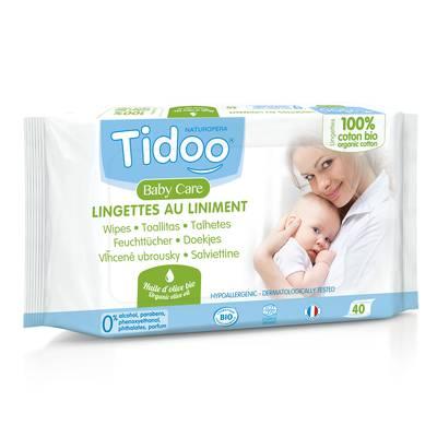 Lingettes au Liniment - TIDOO - Bébé / Enfants