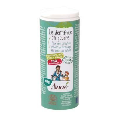 Toothpaste menthol - Anaé Ressources - Hygiene