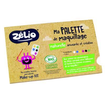 Palette maquillage enfants - Zélio - Maquillage