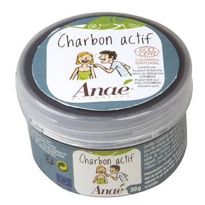 Active carbon - Anaé Ressources - Diy ingredients
