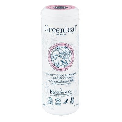 SHAMPOING MINERAL GREENCOLOR - GREENLEAF BOTANIQUE - Cheveux
