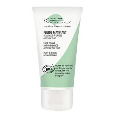 Organic anti-shine fluid - KAEL - Face