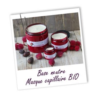 Base masque capillaire - Aroma-zone - Cheveux - Ingrédients diy