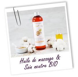 Huile de massage neutre - Aroma-zone - Massage et détente