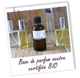 image produit Base parfum neutre