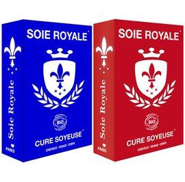 Coffret Soin Cheveux Visage Corps Soie Royale  Cure Soyeuse - Soie Royale Cure Soyeuse - Cheveux