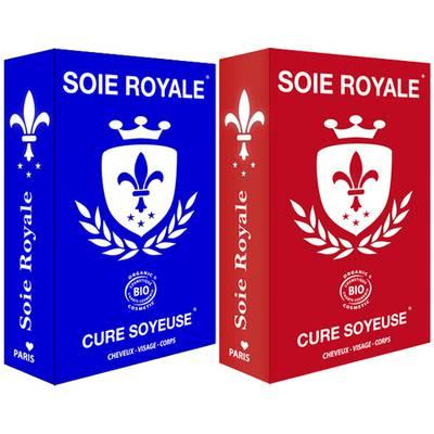 Coffret Soin Cheveux Visage Corps Soie Royale BIO Cure Soyeuse - Soie Royale Cure Soyeuse - Cheveux