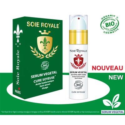 Sérum végétal Soin Régénérant Soie Royale Cure Soyeuse - Soie Royale Cure Soyeuse - Visage