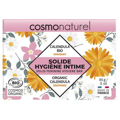 SOLIDE HYGIÈNE INTIME APAISANT - COSMO NATUREL - Hygiène