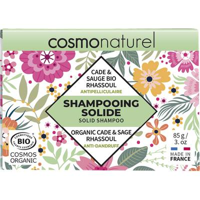 SHAMPOOING SOLIDE ANTIPELLICULAIRE - COSMO NATUREL - Cheveux
