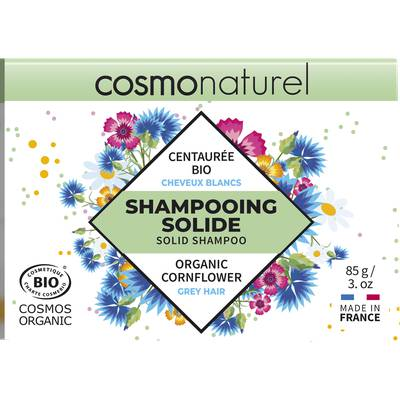 SHAMPOOING SOLIDE CHEVEUX BLANCS - COSMO NATUREL - Cheveux