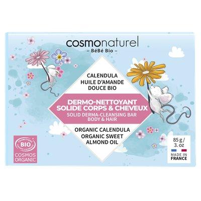 DERMO-NETTOYANT SOLIDE CORPS & CHEVEUX - COSMO NATUREL - Cheveux - Bébé / Enfants