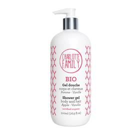 image produit Shower gel body & hair apple-vanilla