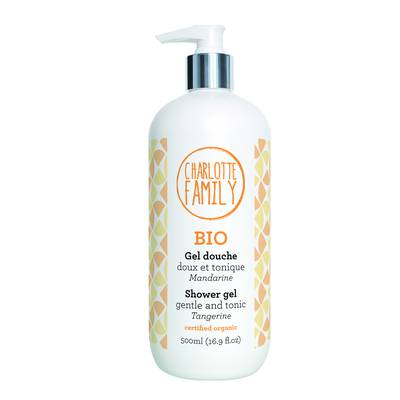 Shower gel gentle and tonic Tangerine - Charlotte Family - Hygiene - Baby / Children