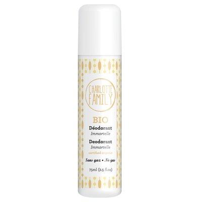 Deodorant Immortelle no gas - Charlotte Family - Hygiene