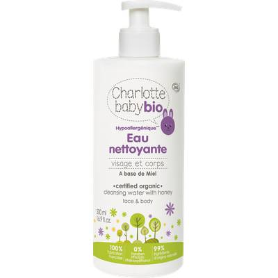 Eau Nettoyante - Charlotte Baby Bio - Bébé / Enfants