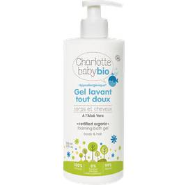 Foaming bath gel body & hair - Charlotte Baby Bio - Hygiene - Baby / Children