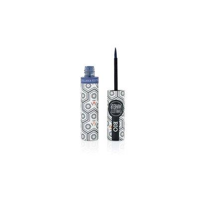 EYE LINER FEUTRE bleu nuit - Charlotte Make Up - Maquillage
