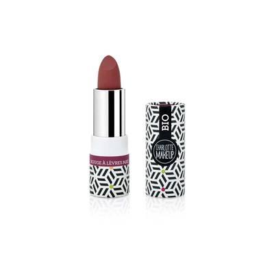 ROUGE à LEVRES MAT Rouge Bordeaux - Charlotte Make Up - Maquillage