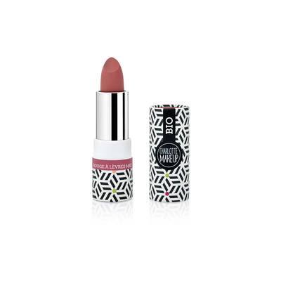 rouge à lèvres mat rouge parfait - Charlotte Make Up - Maquillage