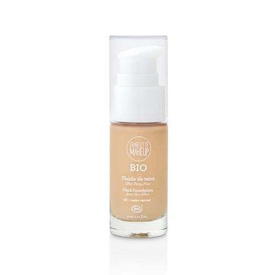 Fond de teint ivoire naturel - Charlotte Make Up - Maquillage