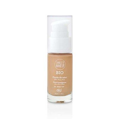 Fond de teint beige rosé - Charlotte Make Up - Maquillage