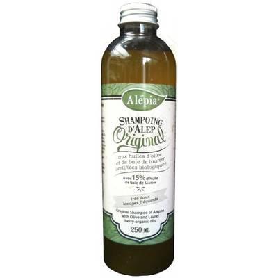 Shampoing d'Alep  No-Poo15 % de Laurier - ALEPIA