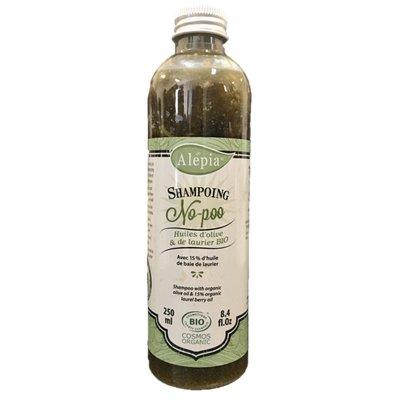 Shampoing Alep  No-Poo 15 % de Laurier - ALEPIA - Cheveux