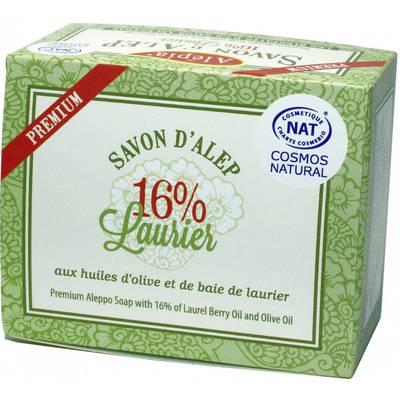 Savon Premium 16% Laurier - ALEPIA - Visage - Hygiène - Corps