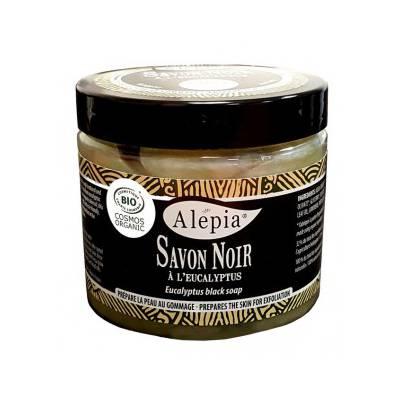 SAVON NOIR À L'EUCALYPTUS - ALEPIA - Massage et détente
