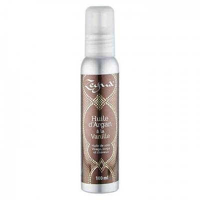 ARGAN OIL WITH VANILLA - ZEYNA - Massage and relaxation