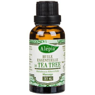 TEA TREE ESSENTIAL OIL - ALEPIA - Massage and relaxation