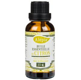 LEMON ESSENTIAL OIL - ALEPIA - Massage and relaxation
